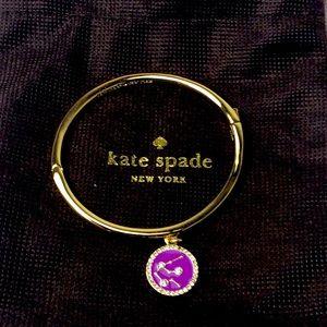 Kate spade charm enamel connect the dot bangle